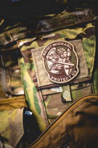 Saint Michael Protectus patch