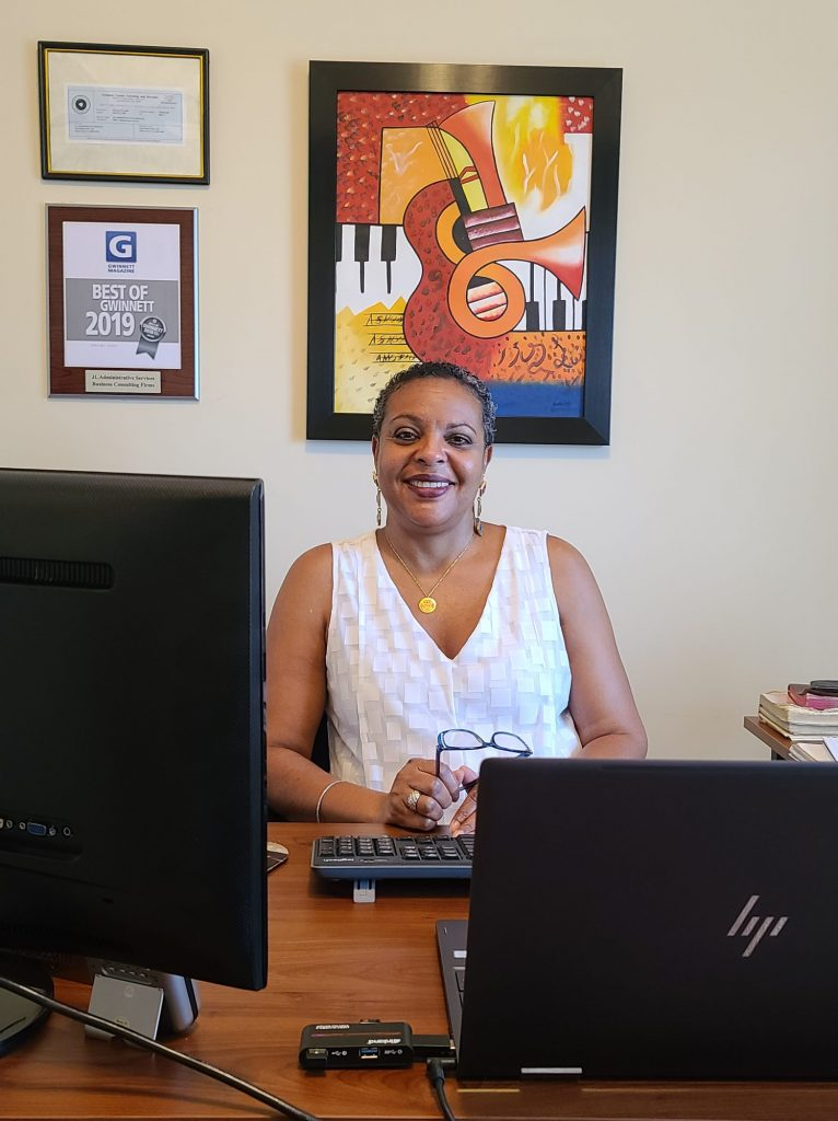 Meet Jeannine Warwick of JL Administrative Services in Snellville - Voyage ATL